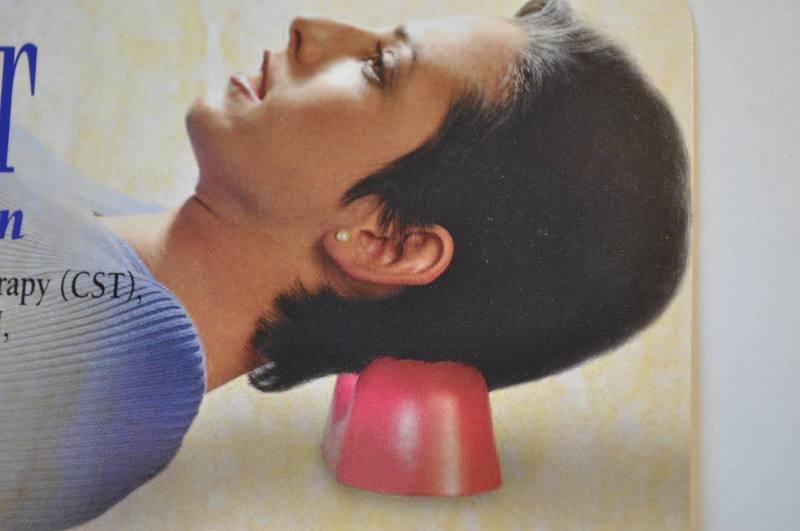 Still Point Inducer Nackenmassage gegen Kopfschmerzen und